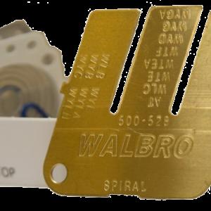 Walbroスパイラルダイアフラムと選択ツールのThumnail画像:イノベーションの60年
