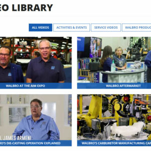 Thumnail Image for Visit the New Video Library for a Close Look Behind the Scenes at Walbro